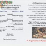 Menù Natalizio