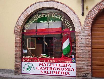 Vetrina Macelleria
